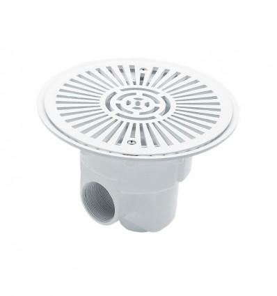 Sumidero circular Ø 270 mm con rejilla ABS
