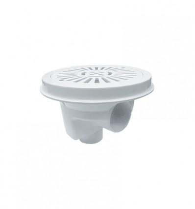 Sumidero circular Ø 200 mm con rejilla plana