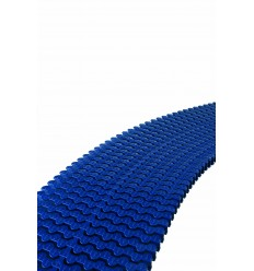 Módulo rejilla transversal para curvas reversible